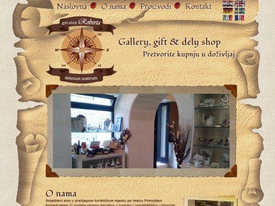 Roberta gift shop